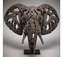 Edge Sculpture Afrikaanse Olifant Buste