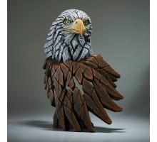 Edge Sculpture Amerikaanse Zeearend Buste