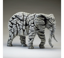 Edge Sculpture Olifant Wit