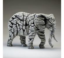 Edge Sculpture Olifant Wit