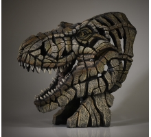 Edge Sculpture T Rex Buste
