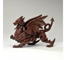 Edge Sculpture Rode Draak