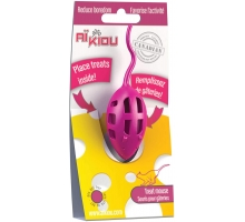 Aikiou Treat Toy Muis Roze