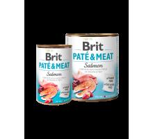 Brit Pate & Meat Zalm 400 gr