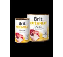 Brit Pate & Meat Kip 400 gr