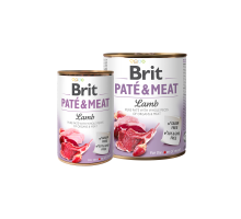 Brit Pate & Meat Lam 400 gr