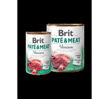 Brit Pate & Meat Hert 400 gr
